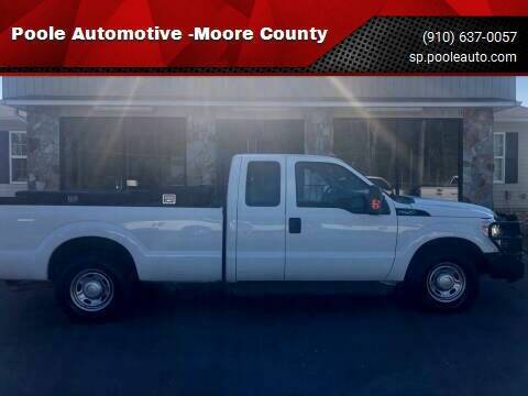 2014 Ford F-250 Super Duty for sale at Poole Automotive -Moore County in Aberdeen NC