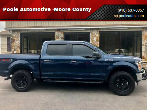 2019 Ford F-150 for sale at Poole Automotive -Moore County in Aberdeen NC