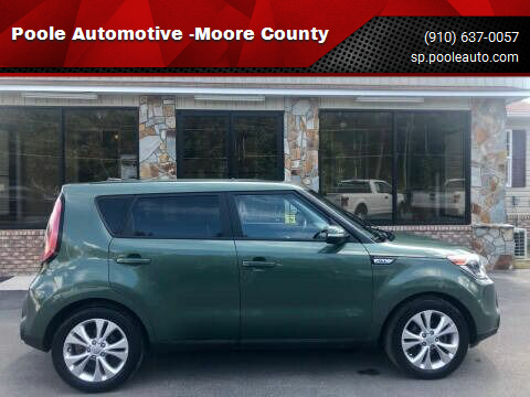 2014 Kia Soul for sale at Poole Automotive -Moore County in Aberdeen NC
