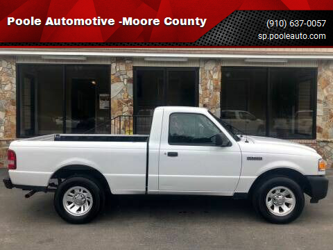 2011 Ford Ranger for sale at Poole Automotive -Moore County in Aberdeen NC