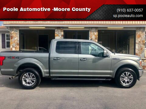 2020 Ford F-150 for sale at Poole Automotive -Moore County in Aberdeen NC
