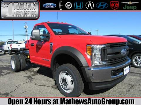 2017 Ford F-550 for sale in Marion, OH