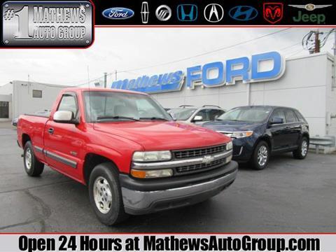 1999 Chevrolet Silverado 1500 for sale in Marion, OH