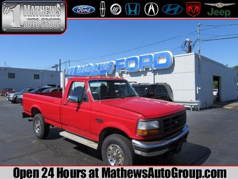 1996 Ford F-250 for sale in Marion, OH