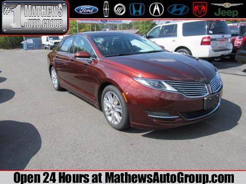 2015 Lincoln MKZ for sale in Marion, OH