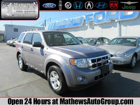 2008 Ford Escape Hybrid for sale in Marion, OH