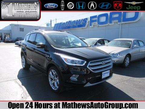 2018 Ford Escape for sale in Marion, OH
