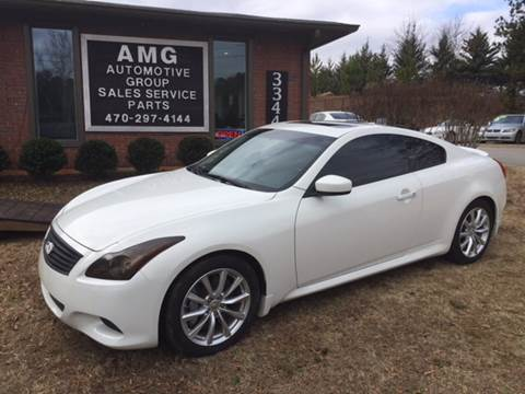 2012 Infiniti G37 Coupe For Sale In Cumming, GA