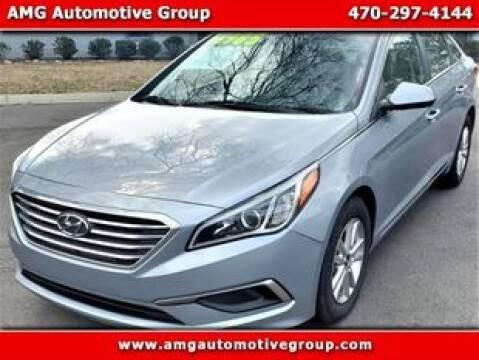 2017 Hyundai Sonata for sale at AMG Automotive Group in Cumming GA