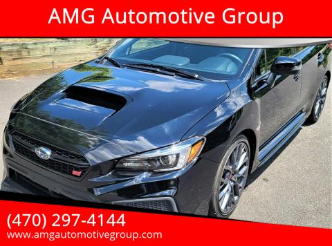 2019 Subaru WRX for sale at AMG Automotive Group in Cumming GA