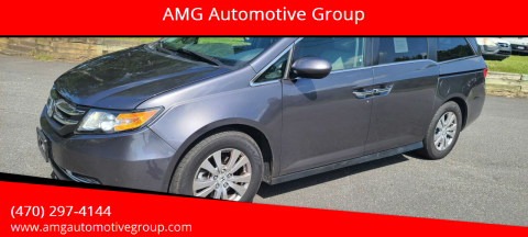 2016 Honda Odyssey for sale at AMG Automotive Group in Cumming GA