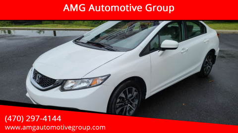 2014 Honda Civic for sale at AMG Automotive Group in Cumming GA