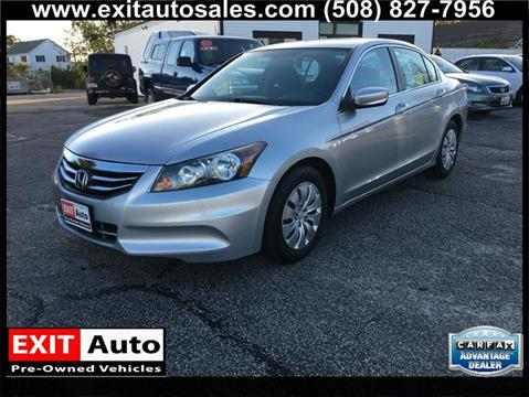 2012 Honda Accord for sale in Hyannis, MA