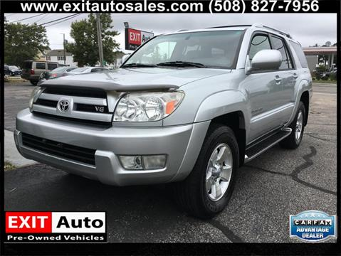 2004 Toyota 4Runner for sale in Hyannis, MA