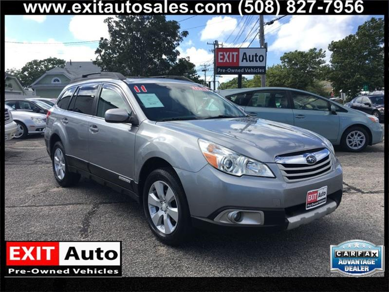 2011 Subaru Outback 25i Limited In Hyannis Ma Exit Auto