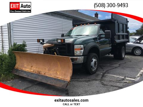 2008 Ford F-550 Super Duty for sale in Hyannis, MA