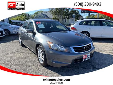 2010 Honda Accord for sale in Hyannis, MA