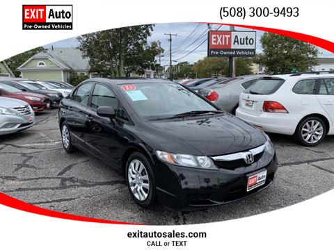 2010 Honda Civic for sale in Hyannis, MA