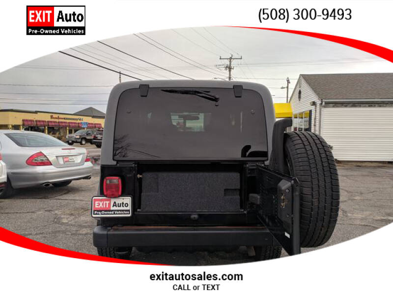 2005 Jeep Wrangler Sport (image 26)