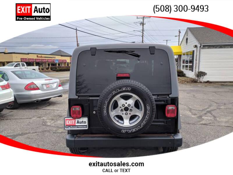 2005 Jeep Wrangler Sport (image 4)
