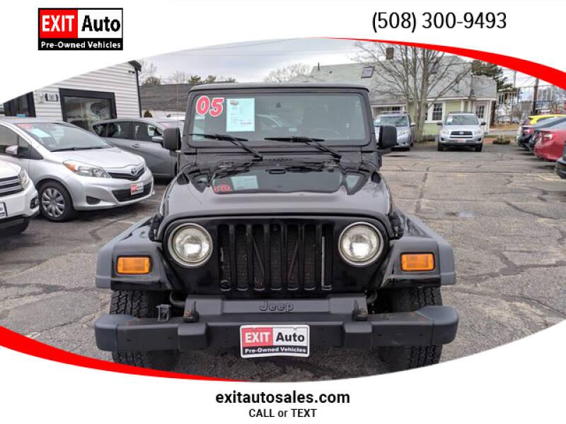 2005 Jeep Wrangler Sport (image 8)