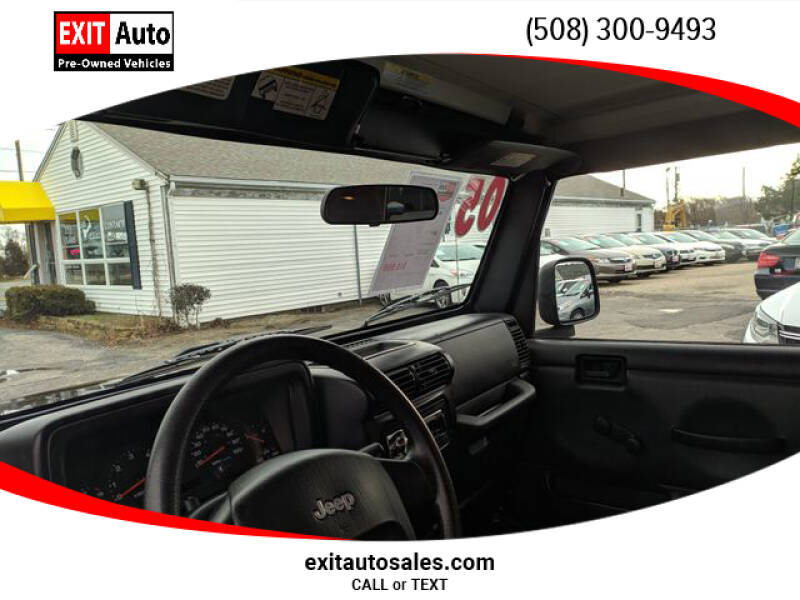 2005 Jeep Wrangler Sport (image 19)