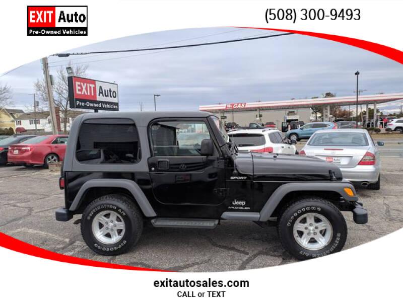 2005 Jeep Wrangler Sport (image 2)