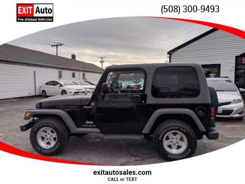 2005 Jeep Wrangler Sport (image 6)