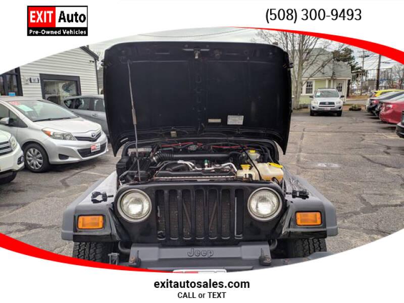 2005 Jeep Wrangler Sport (image 32)