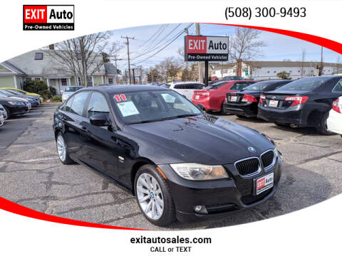 2011 BMW 3 Series 328i xDrive for sale at EXIT  Auto in Hyannis MA