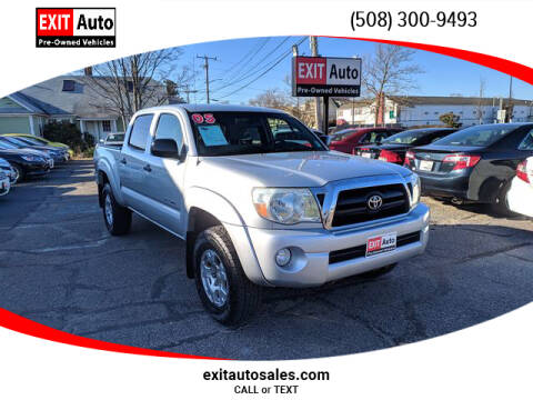 2005 Toyota Tacoma V6 for sale at EXIT  Auto in Hyannis MA