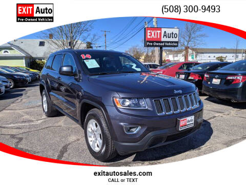 2014 Jeep Grand Cherokee for sale at EXIT  Auto in Hyannis MA
