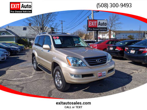 2009 Lexus GX 470 for sale at EXIT  Auto in Hyannis MA