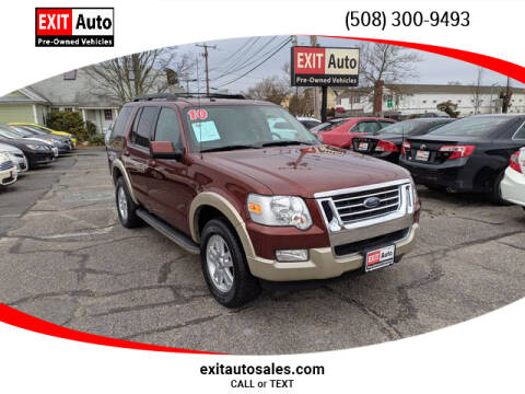 2010 Ford Explorer Eddie Bauer for sale at EXIT  Auto in Hyannis MA
