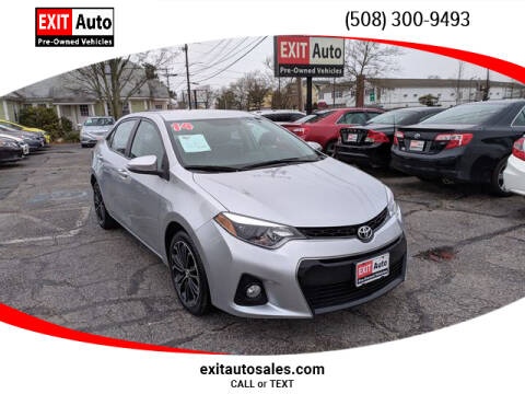 2014 Toyota Corolla L for sale at EXIT  Auto in Hyannis MA