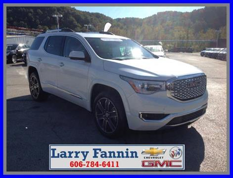 2017 GMC Acadia for sale in Morehead, KY