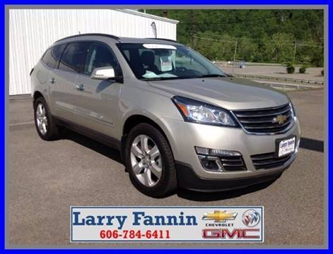2017 Chevrolet Traverse for sale in Morehead, KY