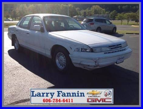 1997 Ford Crown Victoria for sale in Morehead KY