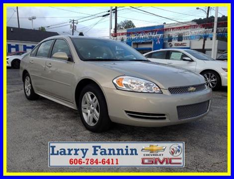 2012 Chevrolet Impala for sale in Morehead, KY
