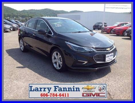 2016 Chevrolet Cruze for sale in Morehead, KY