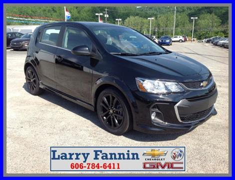 2017 Chevrolet Sonic for sale in Morehead KY