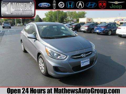 2017 Hyundai Accent for sale in Marion, OH
