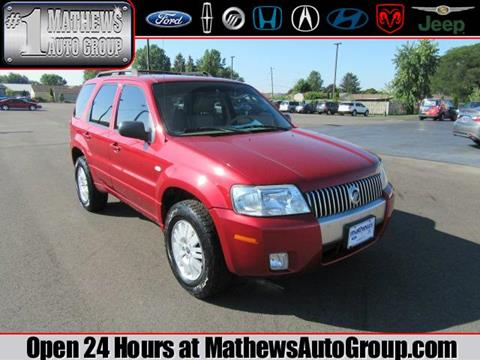 2007 Mercury Mariner for sale in Marion OH
