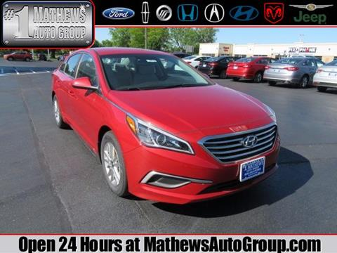 2017 Hyundai Sonata for sale in Marion OH