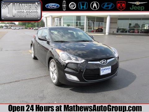 2017 Hyundai Veloster for sale in Marion OH