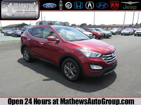 2014 Hyundai Santa Fe Sport for sale in Marion OH