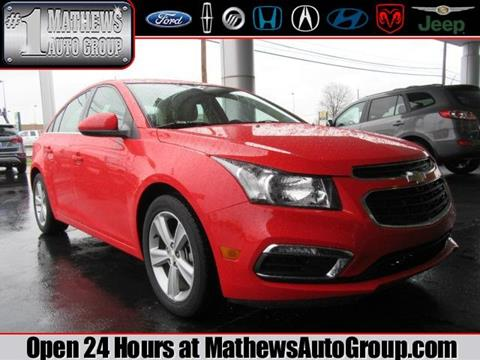 2015 Chevrolet Cruze for sale in Marion, OH