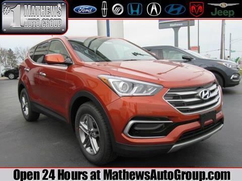 2017 Hyundai Santa Fe Sport for sale in Marion, OH