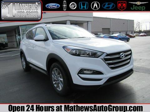 2017 Hyundai Tucson for sale in Marion OH