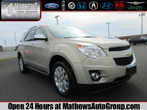 2010 Chevrolet Equinox for sale in Marion, OH
